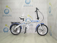 16 Inch Exotic 2658 -8 6 Speed Folding Bike