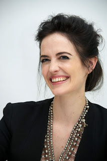 Eva Green Smiling In Black Dress