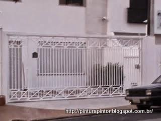 pintura de portão e portas
