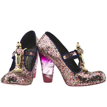 Where Do People Wear Glittery Irregular Choice Shoes