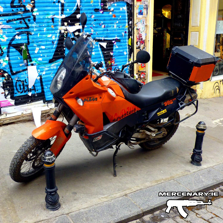 Mercenary Garage - Istanbul 2014