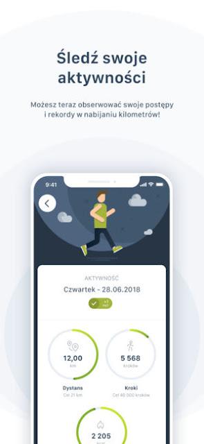 aplikacja dla biegaczy