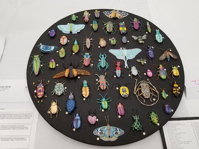 Sara Weber's cookie bug bites display
