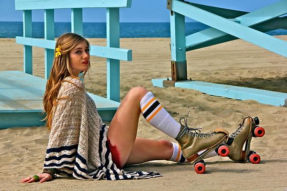 Black Mid Skate Shoes