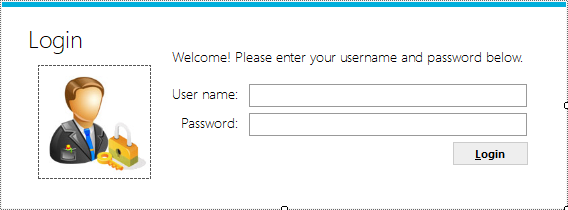 FoxLearn | Windows Forms: Metro Login form with SQL Server in C#