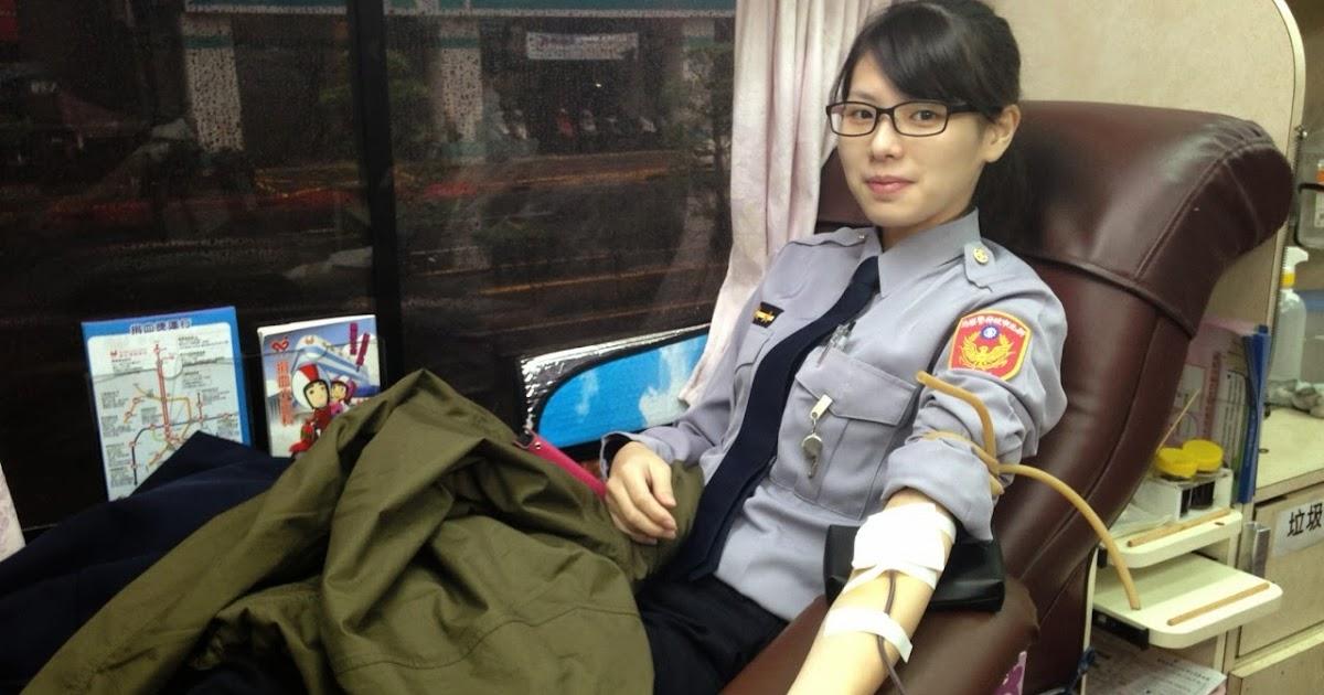警光新聞雲 Blog: 人物特寫-9度低溫澆不熄的熱血 海山分局響應捐血活動