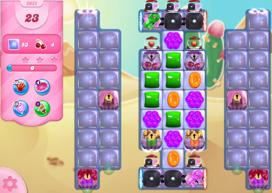 Candy Crush Saga level 3035