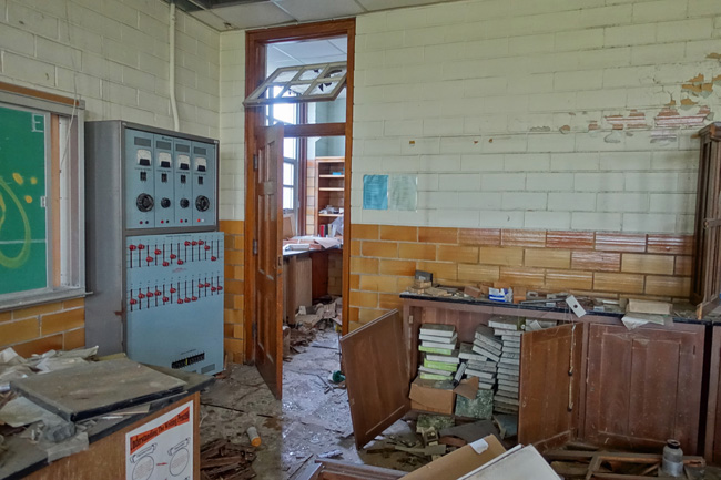 Horace Mann High School Abandoned in Gary, Indiana