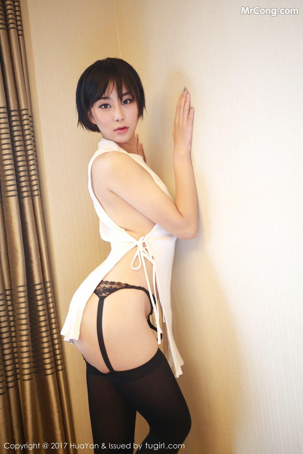Image HuaYan-Vol.042-Yi-Lei-MrCong.com-002 in post HuaYan Vol.042: Người mẫu Yi Lei (艺蕾) (48 ảnh)