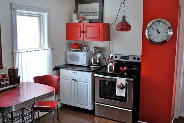 dapur warna merah putih