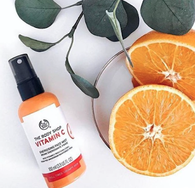 REVIEW: Vitamin C Energising Face Mist - The Body Shop | SDiaries