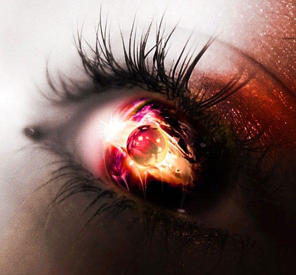 Neodecay deviantart foto-manipulações photoshop reflexos olhos surreal fantasia olhares