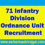 71 Infantry Division Ordnance Unit Recruitment