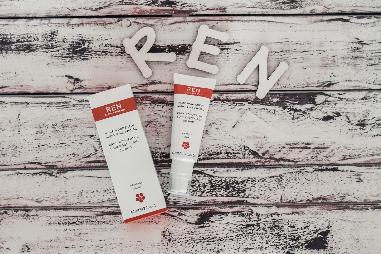 REN prodotti skincare