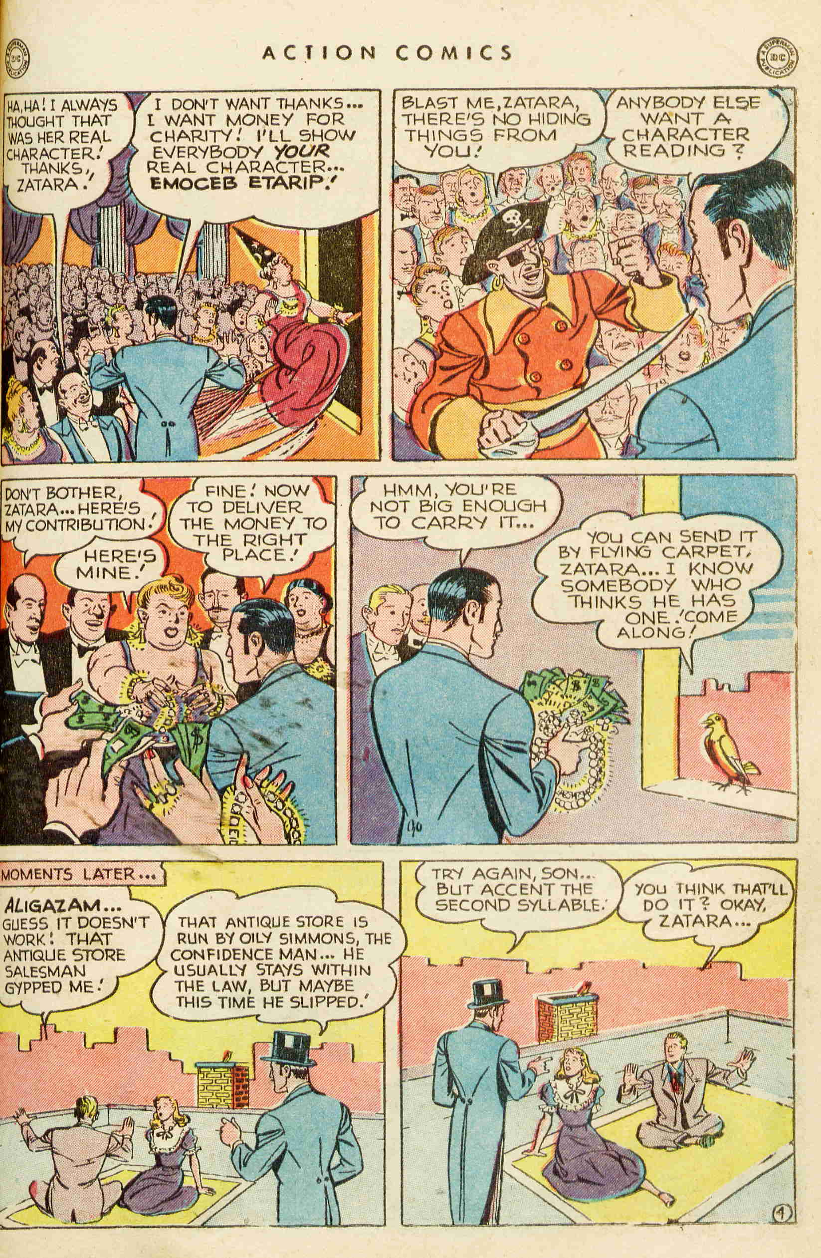 Read online Action Comics (1938) comic -  Issue #129 - 26