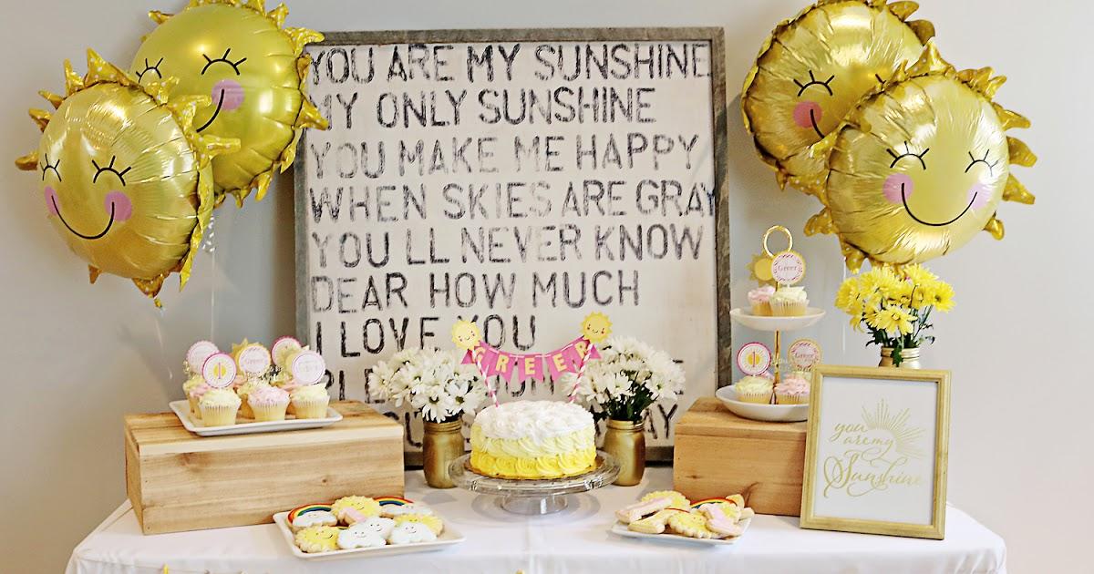 doodah You Are My Sunshine 1st Birthday