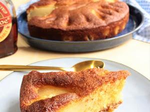 Gâteau facile poire et sirop d'érable