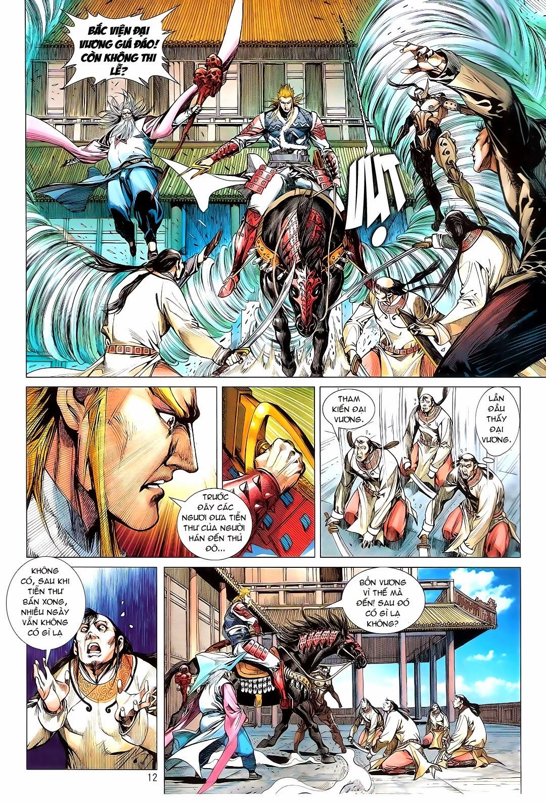 tuoithodudoi.com Thiết Tướng Tung Hoành Chapter 110 - 12.jpg