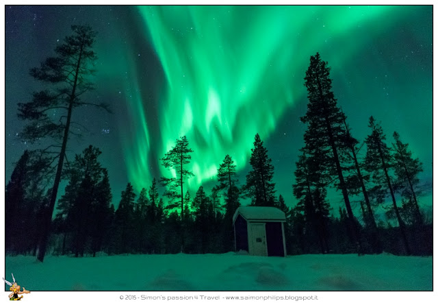 Aurora Boreale Lapponia