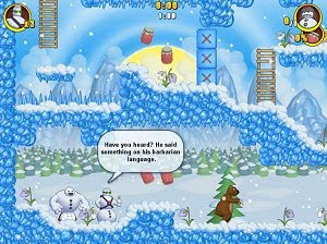 The Lost Snowmen free arcade reflexion PC game