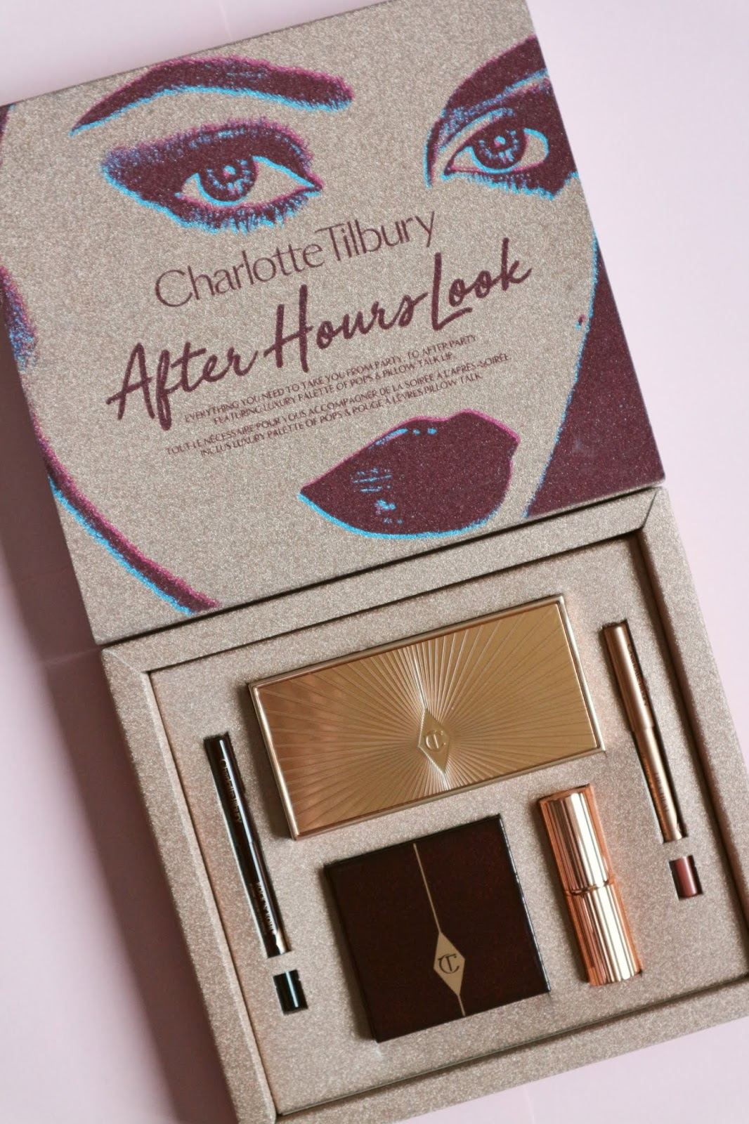 charlotte tilbury after hours look gift box
