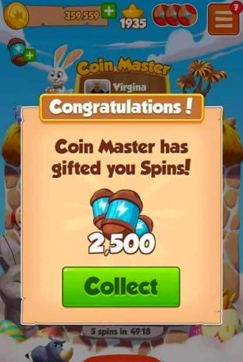 Spins Coin Master