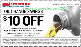 Firestone coupons february