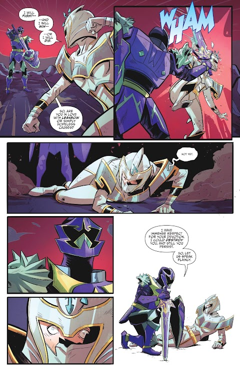 Power Rangers 25th Anniversary Special Comic