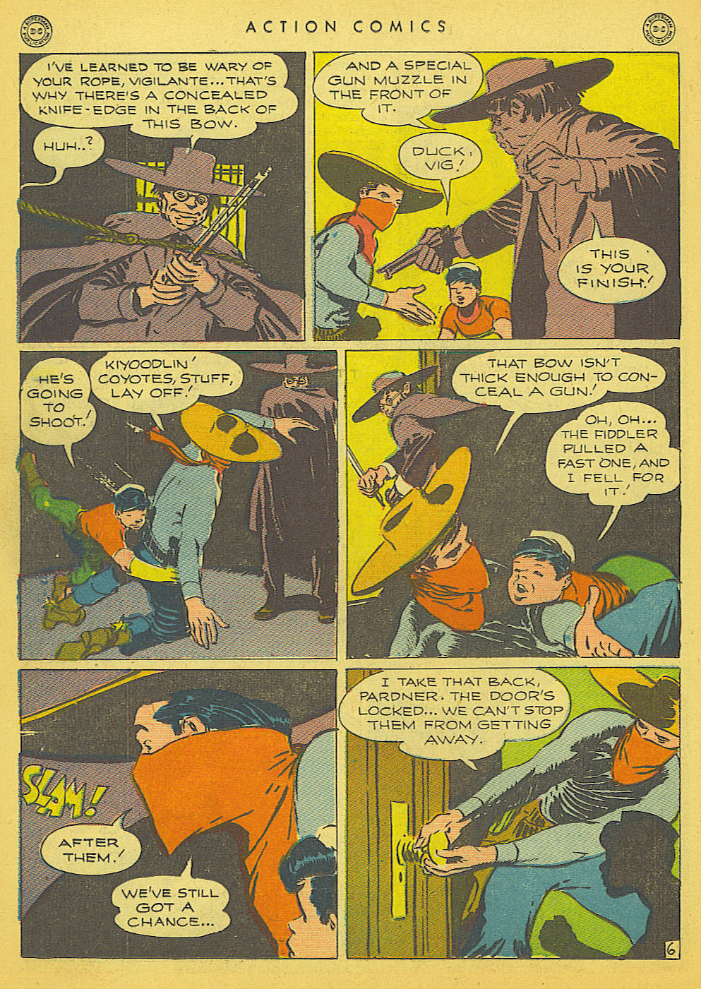 Read online Action Comics (1938) comic -  Issue #91 - 36