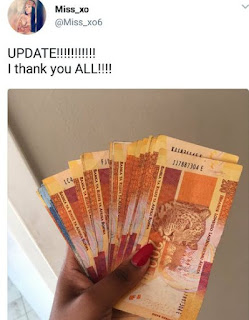 South African lady who made a lot of money by using fake hospital photo goes viral