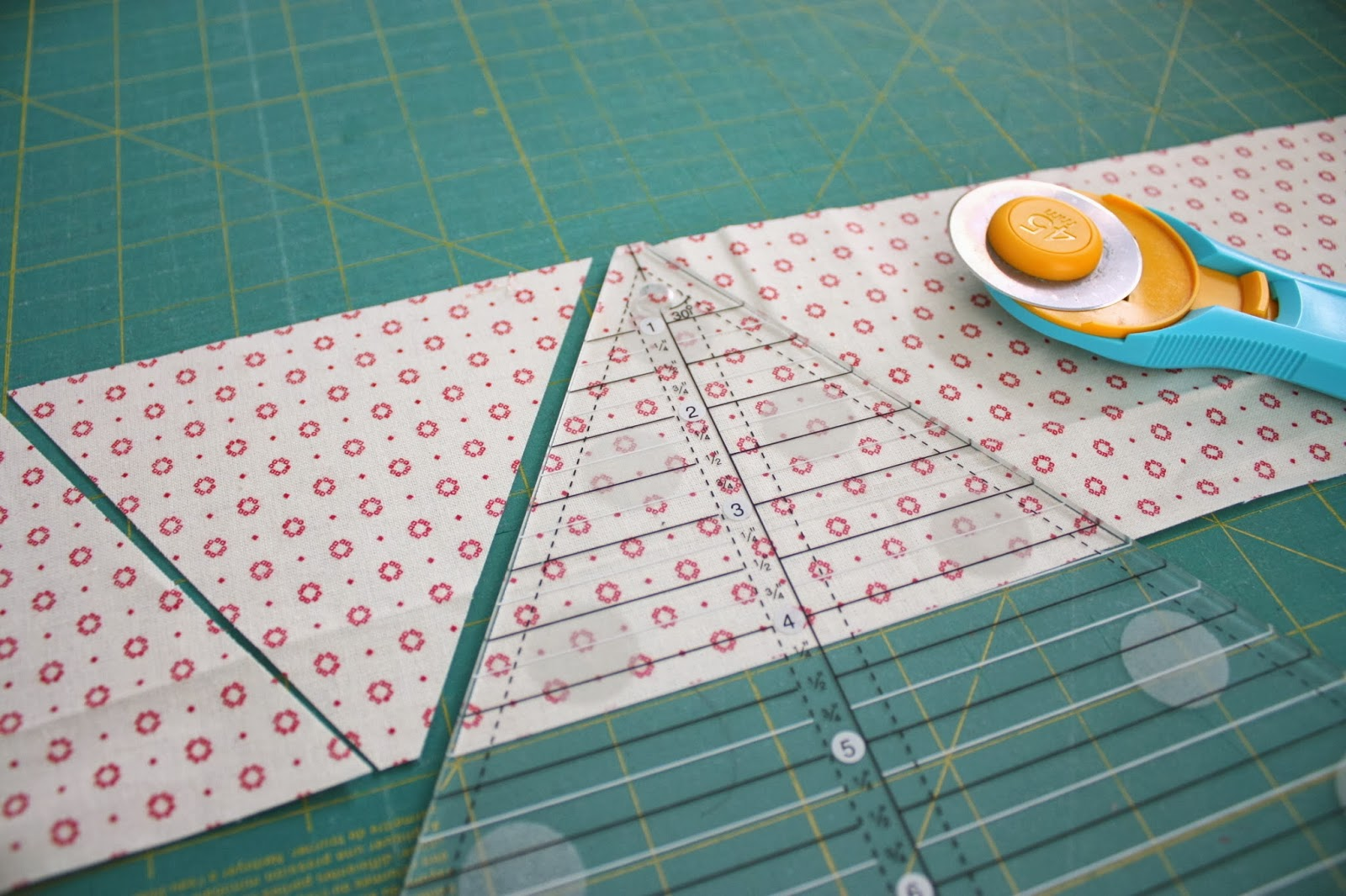 Triangle Star Quilt Block Tutorial Diary Of A Quilter