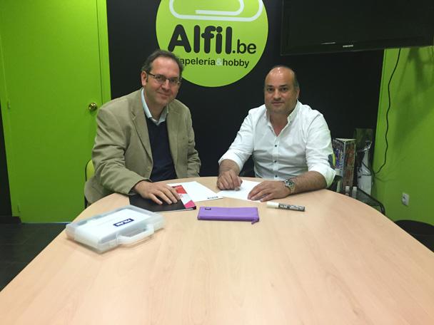 Acuerdo de colaboración Alfil - Milan