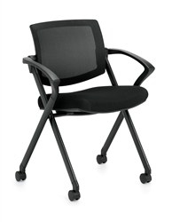 Offices To Go Flip Seating Nesting Chair OTG11340B