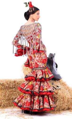 traje flamenca Margarita Freire 2016