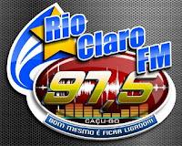 Rádio Rio Claro FM de Caçu GO ao vivo