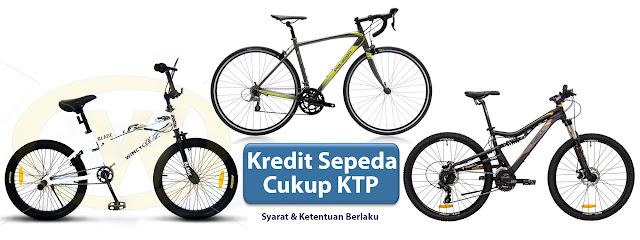 kredit sepeda cukup KTP