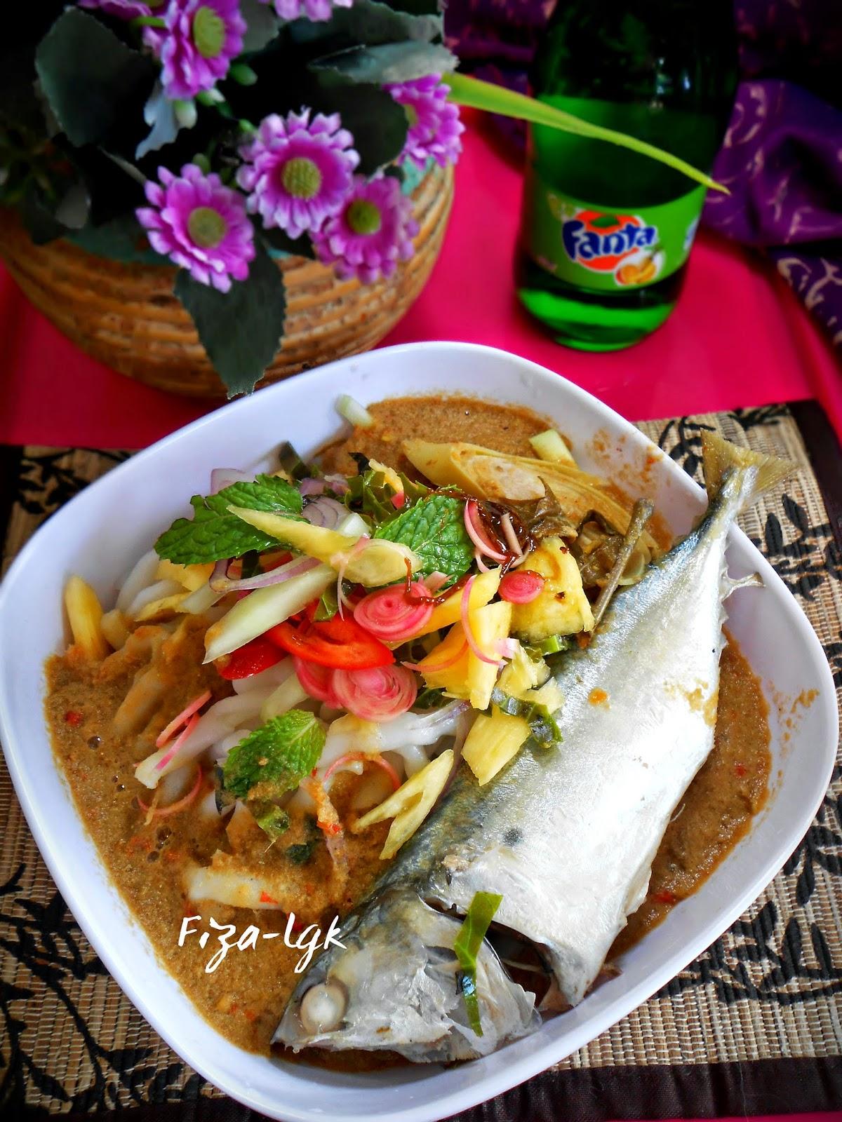 ASAM LAKSA IKAN SEKOQ - Ala Fiza's Cooking | Fiza's Cooking