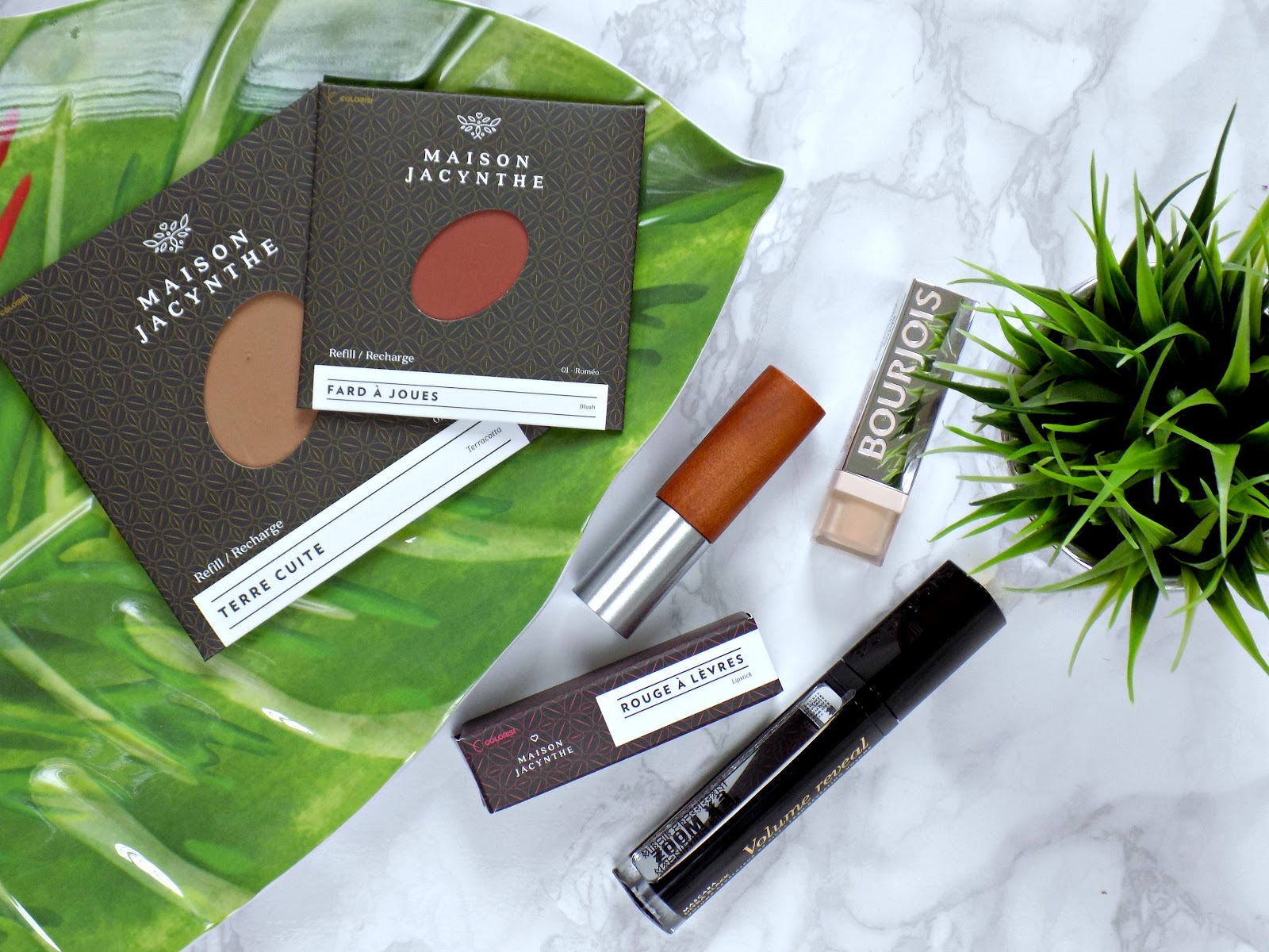 new makeup products from Maison Jacynthe and Bourjois