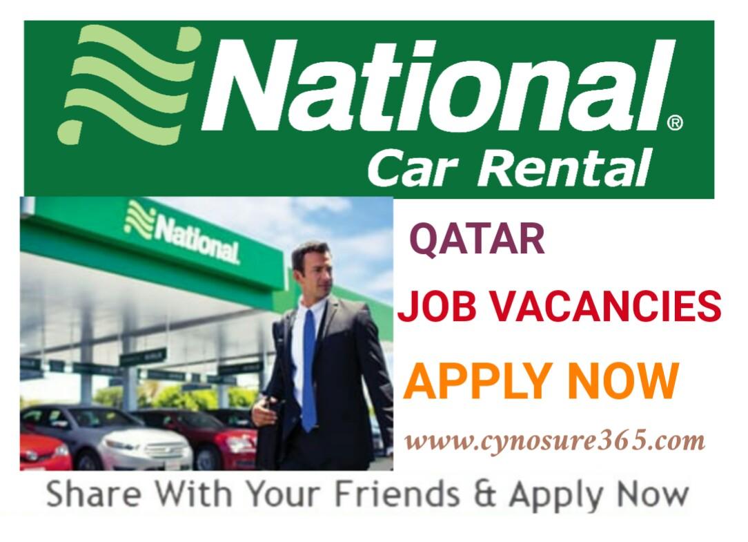 National Car Rental Qatar Job Vacancies Cynosure365