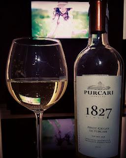 Purcari Pinot Grigio  opis smaku i recenzja wina