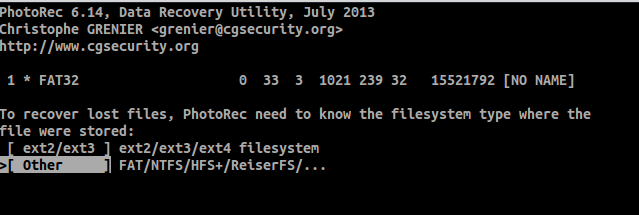 scan file linux