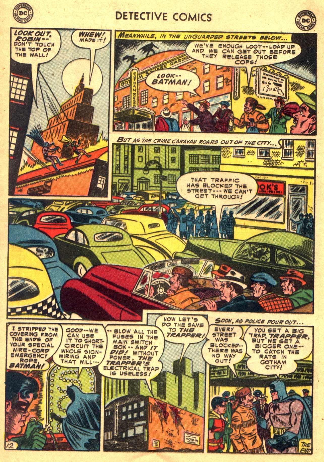 Read online Detective Comics (1937) comic -  Issue #206 - 12
