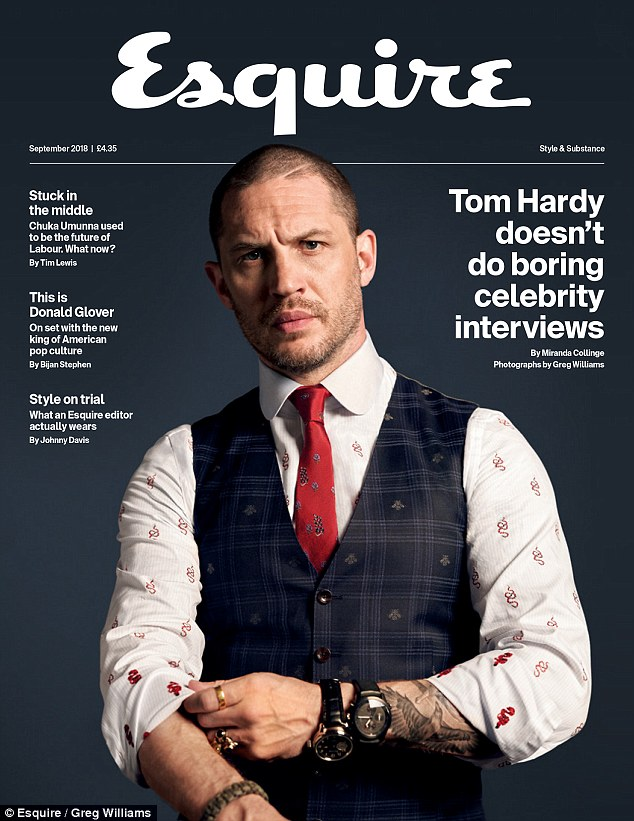 'Parenting is the trickiest job in the world'- Tom Hardy says
