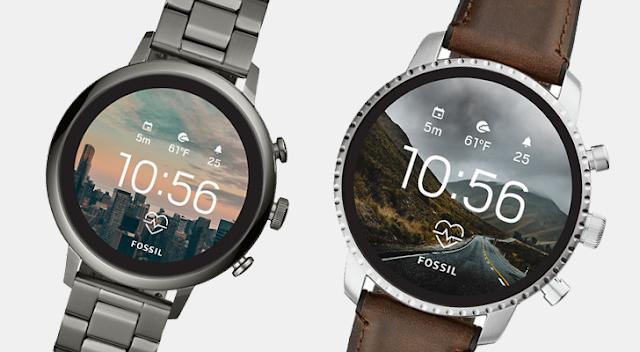 La nueva colección 2018 de relojes inteligentes FOSSIL