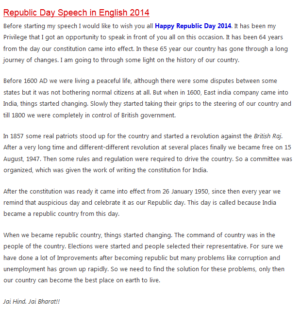 essay on republic day in english for kids of class happy   n republic day essay in english