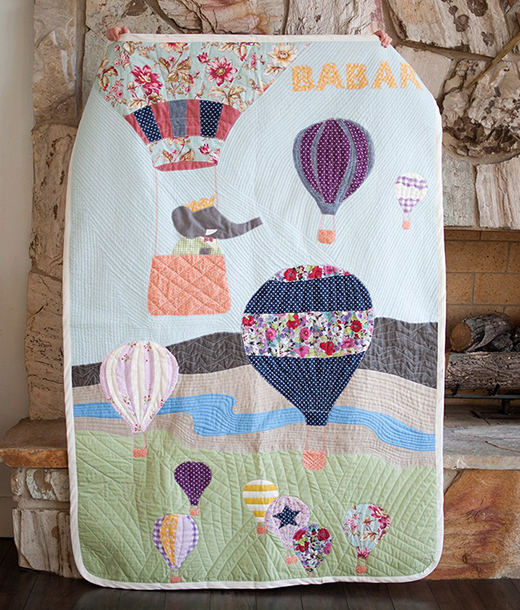Vintage Babar Inspired Quilt Free Pattern