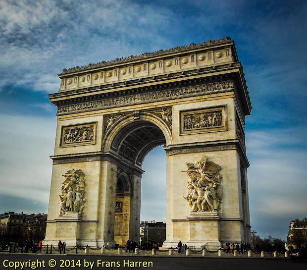 Arc De Triomphe L'toile Frans Harren