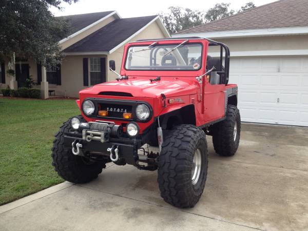 1972 Toyota Land Cruiser FJ40 For Sale