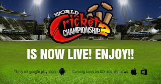Hit six on every ball in world Cricket Championship 2