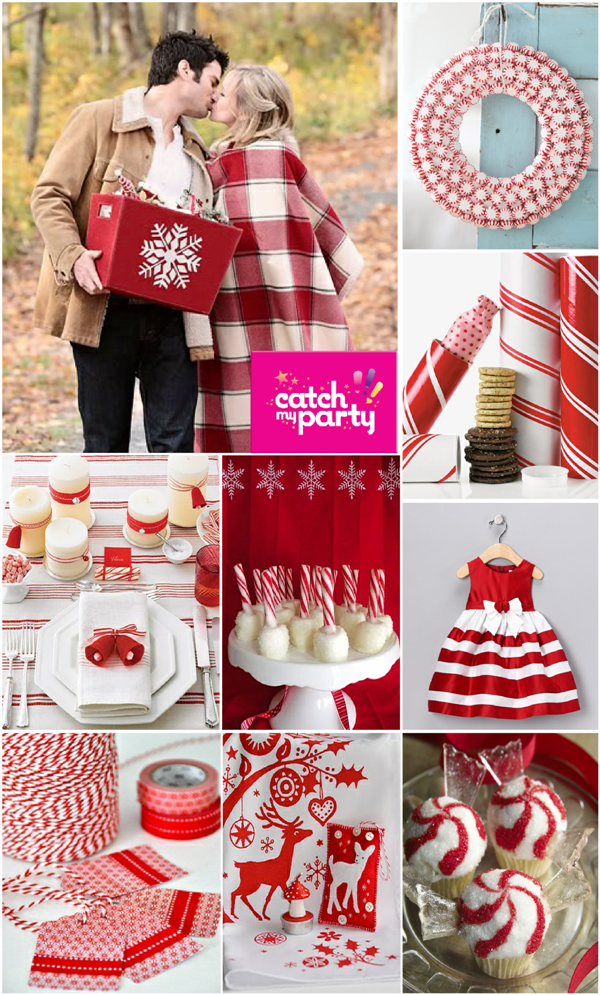 Christmas Party Ideas | Candy Cane Holiday Celebration